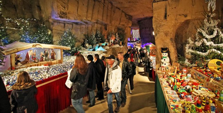 Kerstmarkt Valkenburg hotel aanbieding
