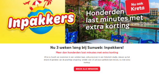 Sunweb inpakkers